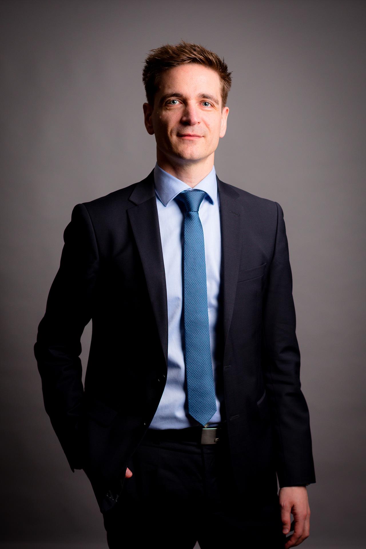 Portrait professionnel couleur Stéphane