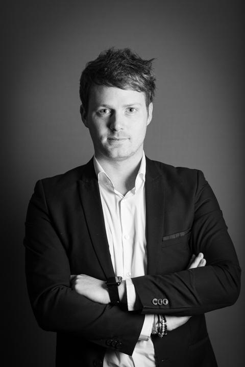 Portrait professionnel couleur Mathieu Platel